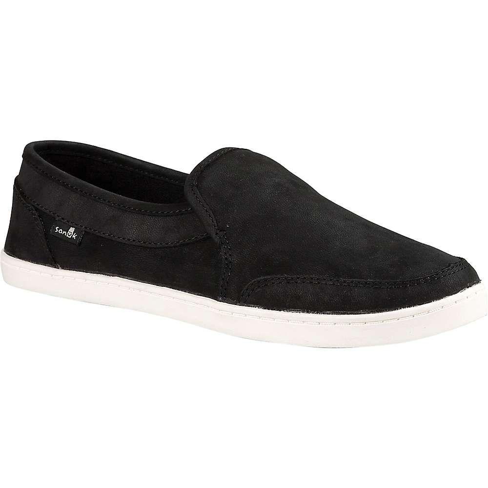 サヌーク Sanuk レディース シューズ・靴 【Pair O Dice Leather Shoe】Black