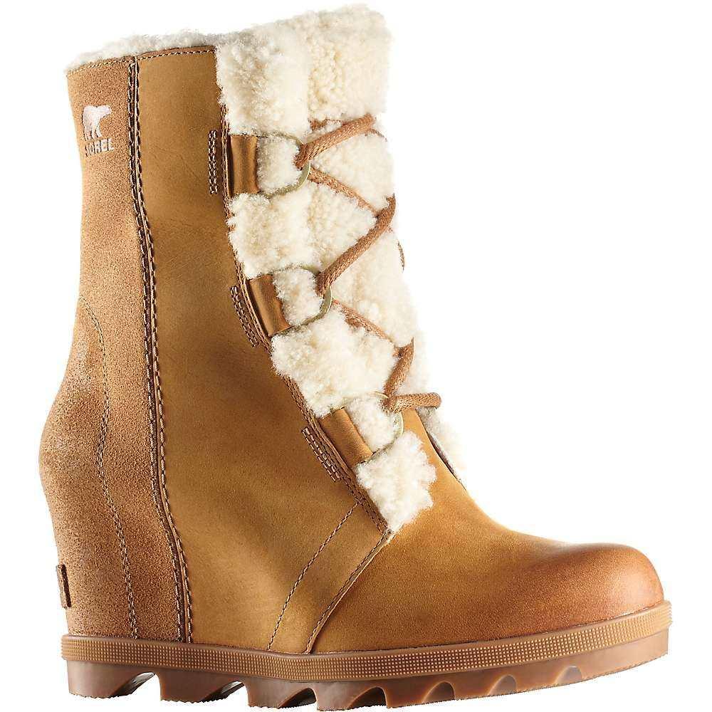 ソレル Sorel レディース ブーツ シアリング ウェッジソール シューズ・靴【Joan of Arctic Wedge II Shearling Boot】Camel Brown
