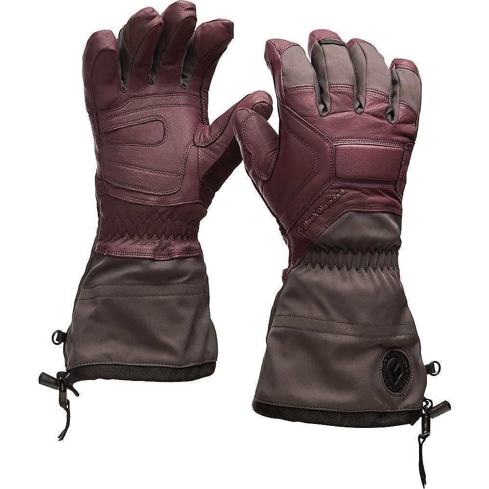 ブラックダイヤモンド Black Diamond レディース スキー・スノーボード グローブ【Guide Glove】Bordeaux