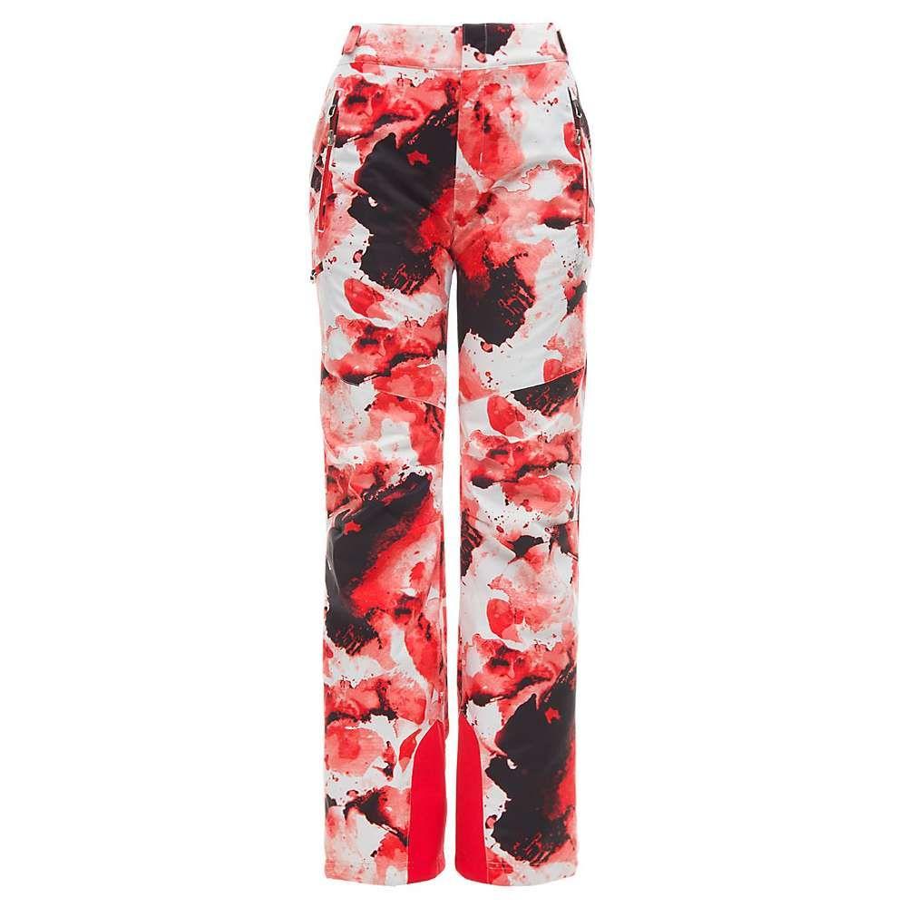 スパイダー Spyder レディース スキー・スノーボード ボトムス・パンツ【Winner Regular Pant】Frequency Golden Poppy/Hibiscus
