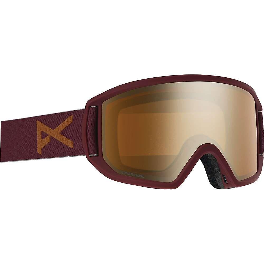 アノン Anon ユニセックス スキー・スノーボード ゴーグル【Relapse Goggle】Maroon/Sonar Bronze