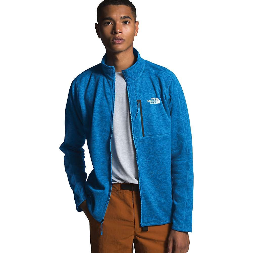 ザ ノースフェイス The North Face メンズ フリース トップス【Canyonlands Full Zip Top】Clear Lake Blue Heather