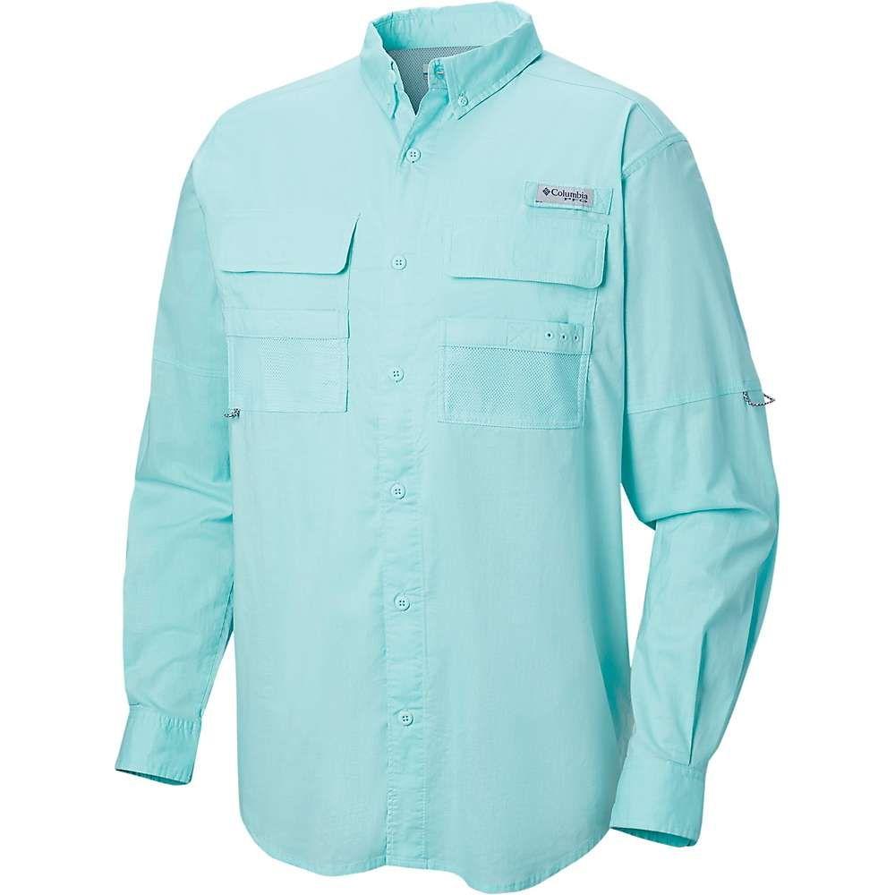 コロンビア Columbia メンズ シャツ トップス【Half Moon LS Shirt】Gulf Stream