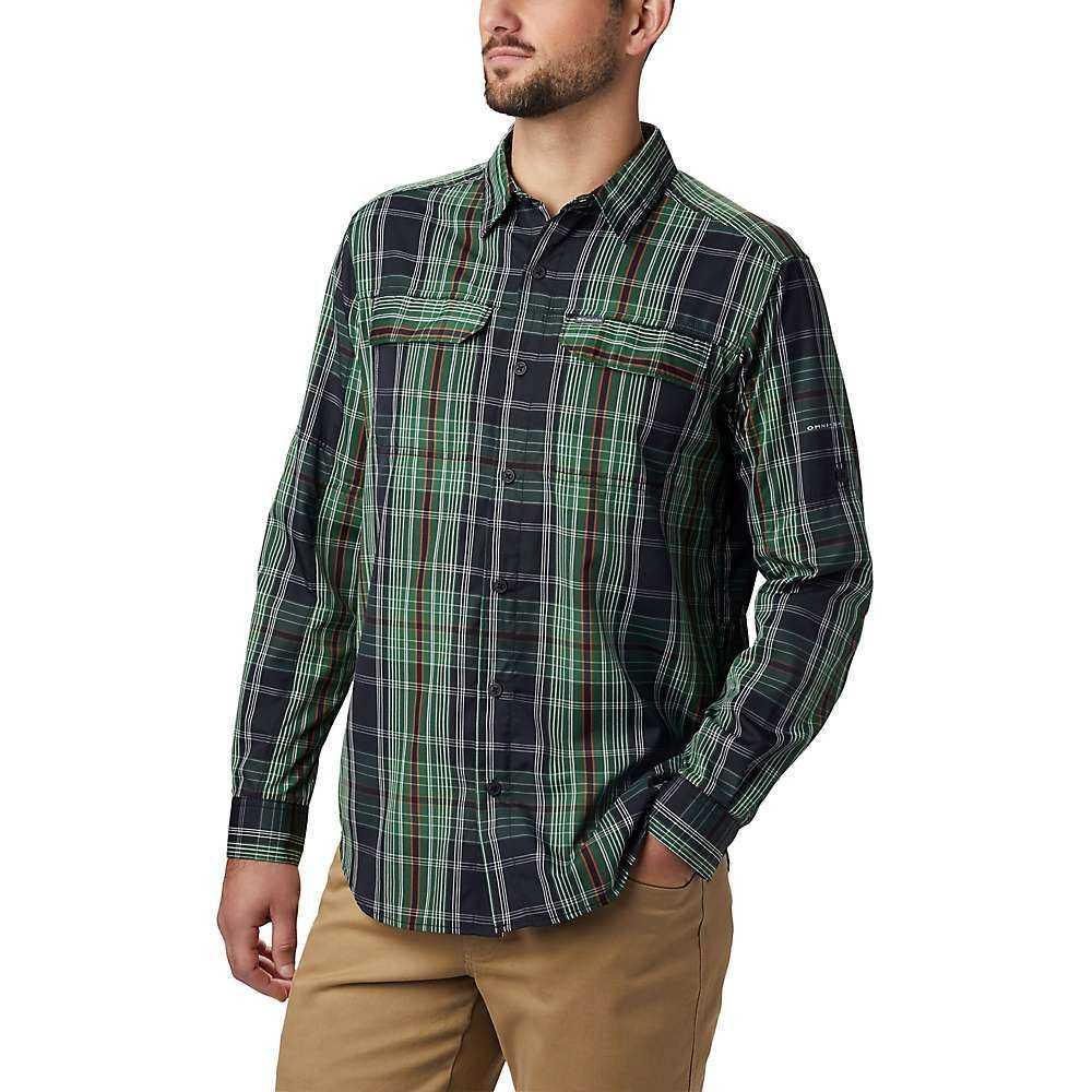 コロンビア Columbia メンズ シャツ トップス【Silver Ridge 2.0 Plaid LS Shirt】Black Large Plaid