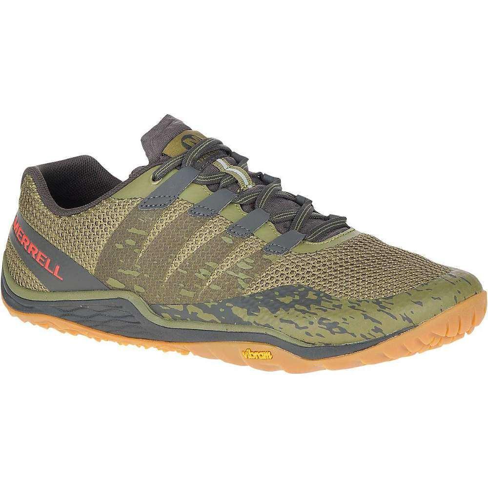 メレル Merrell メンズ ランニング・ウォーキング シューズ・靴【Trail Glove 5 Shoe】Olive Drab/Beluga