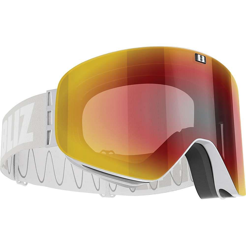 ブリッツ Bliz ユニセックス スキー・スノーボード ゴーグル【Flow Goggle】Light Grey/Brown/Red Multi
