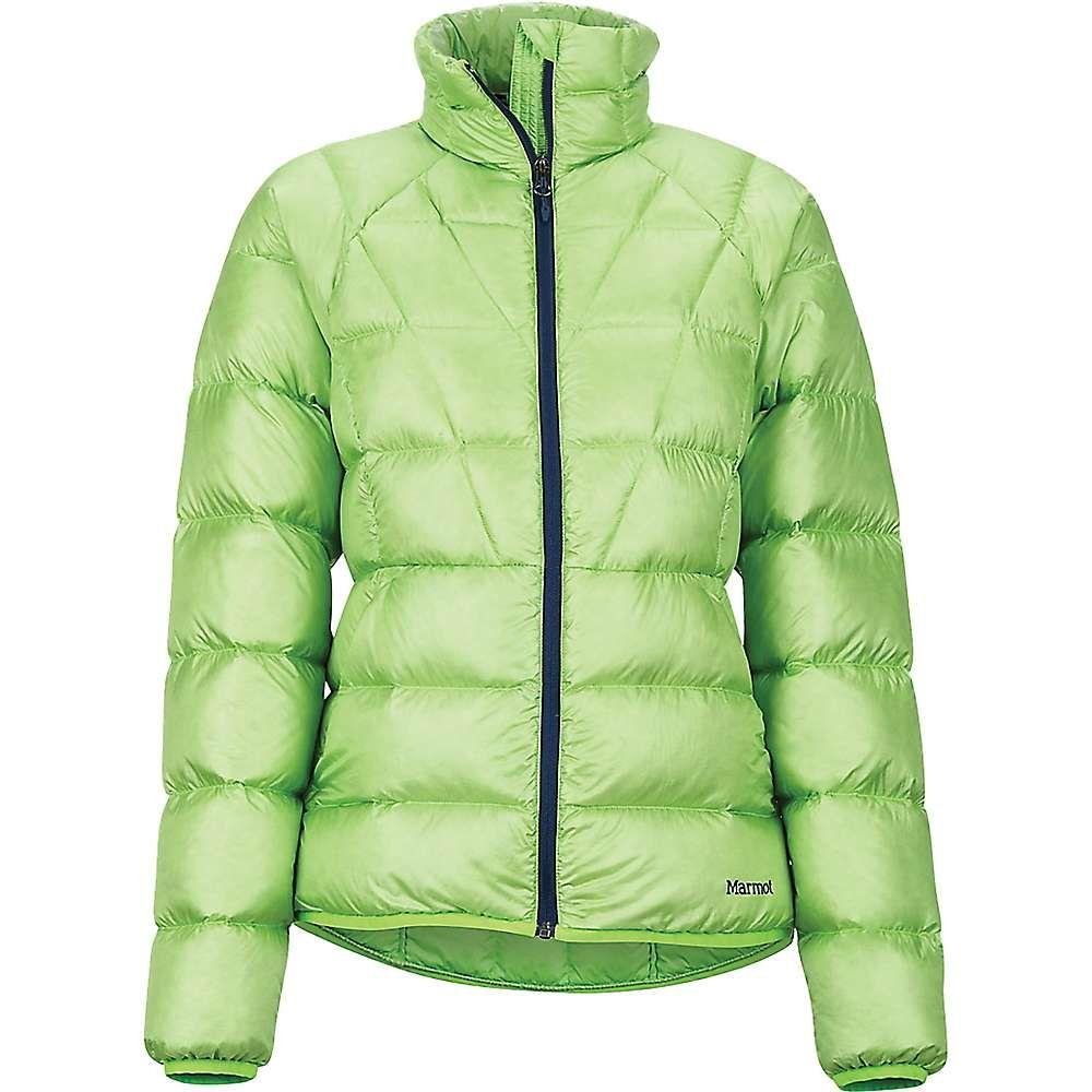 マーモット Marmot レディース ダウン・中綿ジャケット アウター【Hype Down Jacket】Vibrant Green