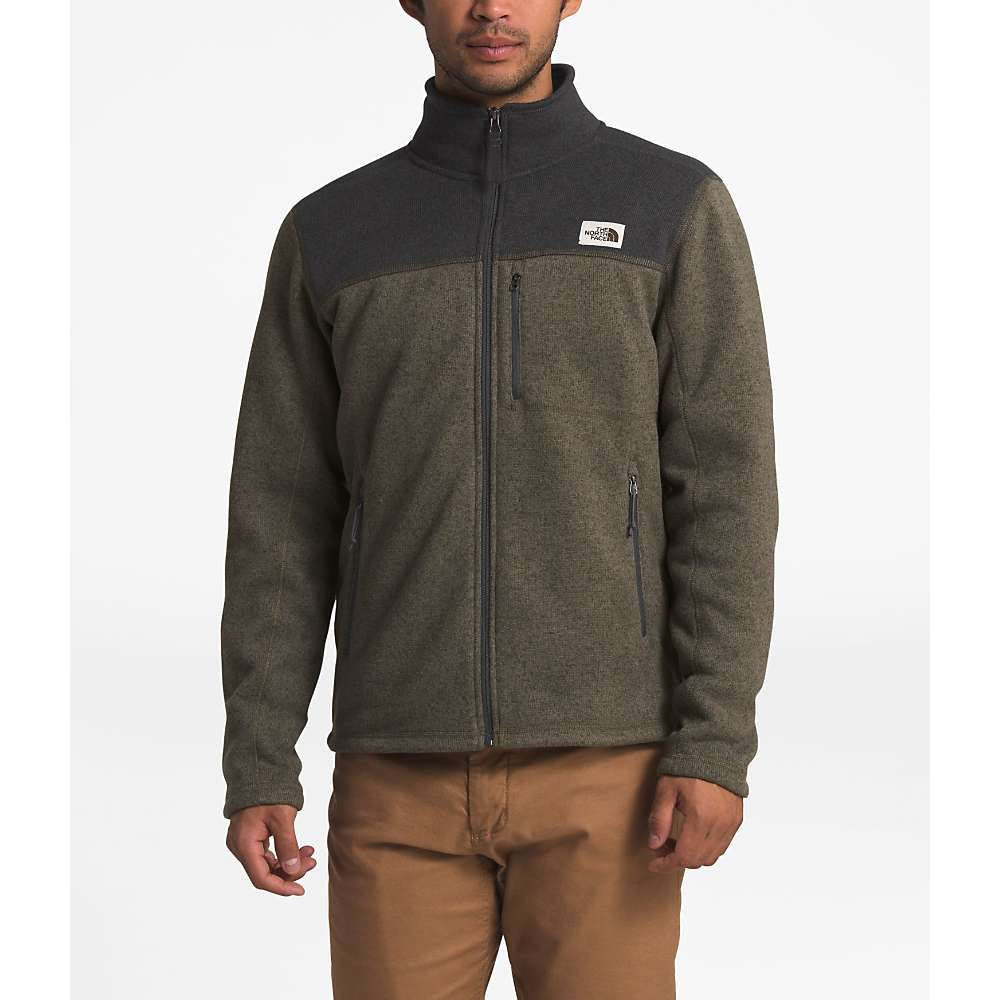 ザ ノースフェイス The North Face メンズ フリース トップス【Gordon Lyons Full Zip Top】New Taupe Green Heather/TNF Dark Grey Heather
