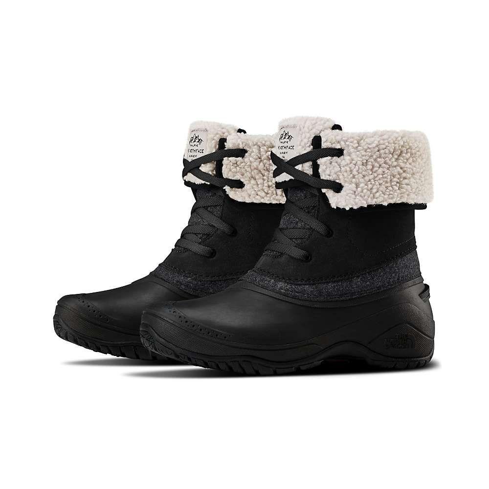 ザ ノースフェイス The North Face レディース ブーツ シューズ・靴【Shellista II Roll Down Boot】TNF Black/Zinc Grey