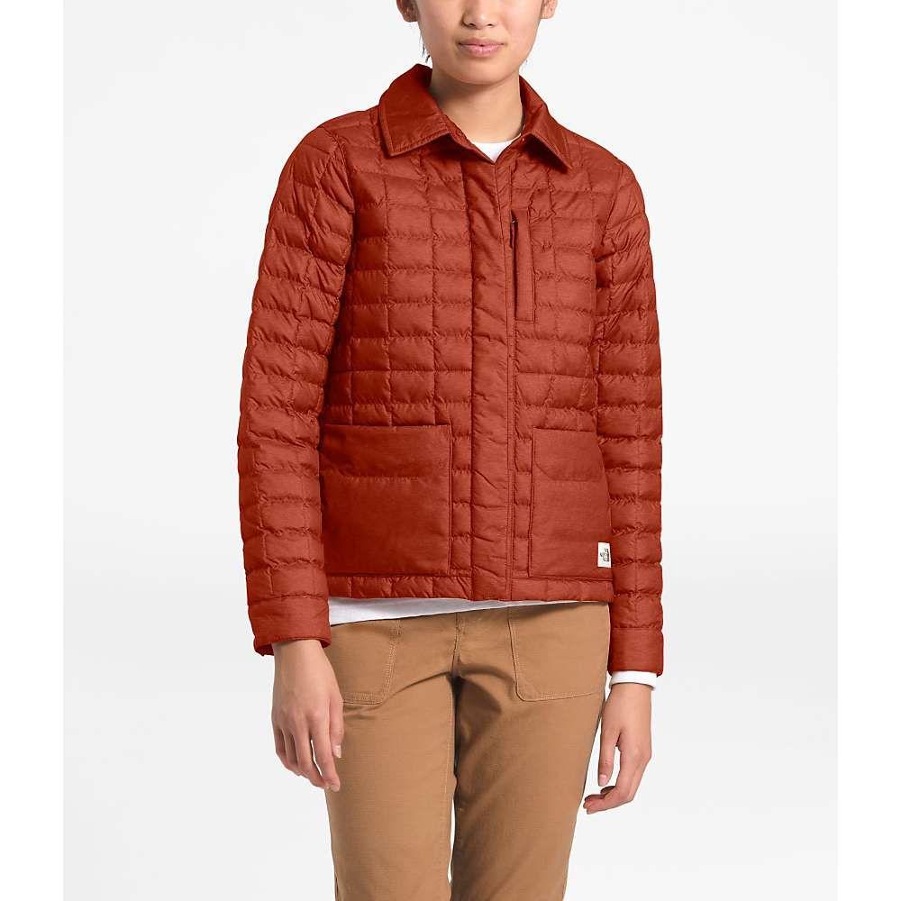 ザ ノースフェイス The North Face レディース ジャケット アウター【ThermoBall Eco Snap Jacket】Picante Red Heather