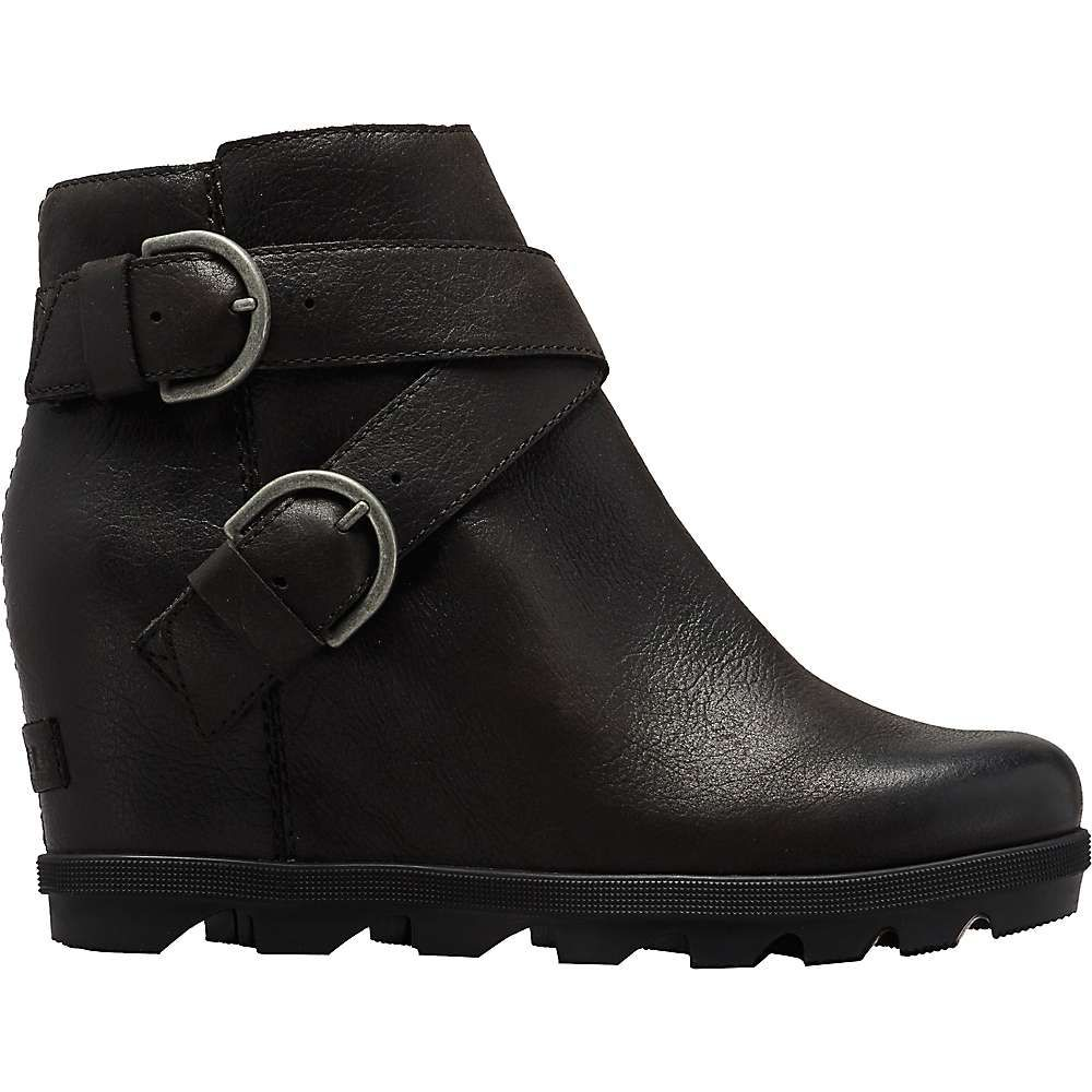 ソレル Sorel レディース ブーツ ウェッジソール シューズ・靴【Joan Of Arctic Wedge II Buckle Boot】Black