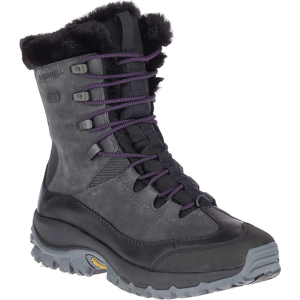 メレル Merrell レディース ブーツ シューズ・靴【Thermo Rhea Mid Waterproof Boot】Granite