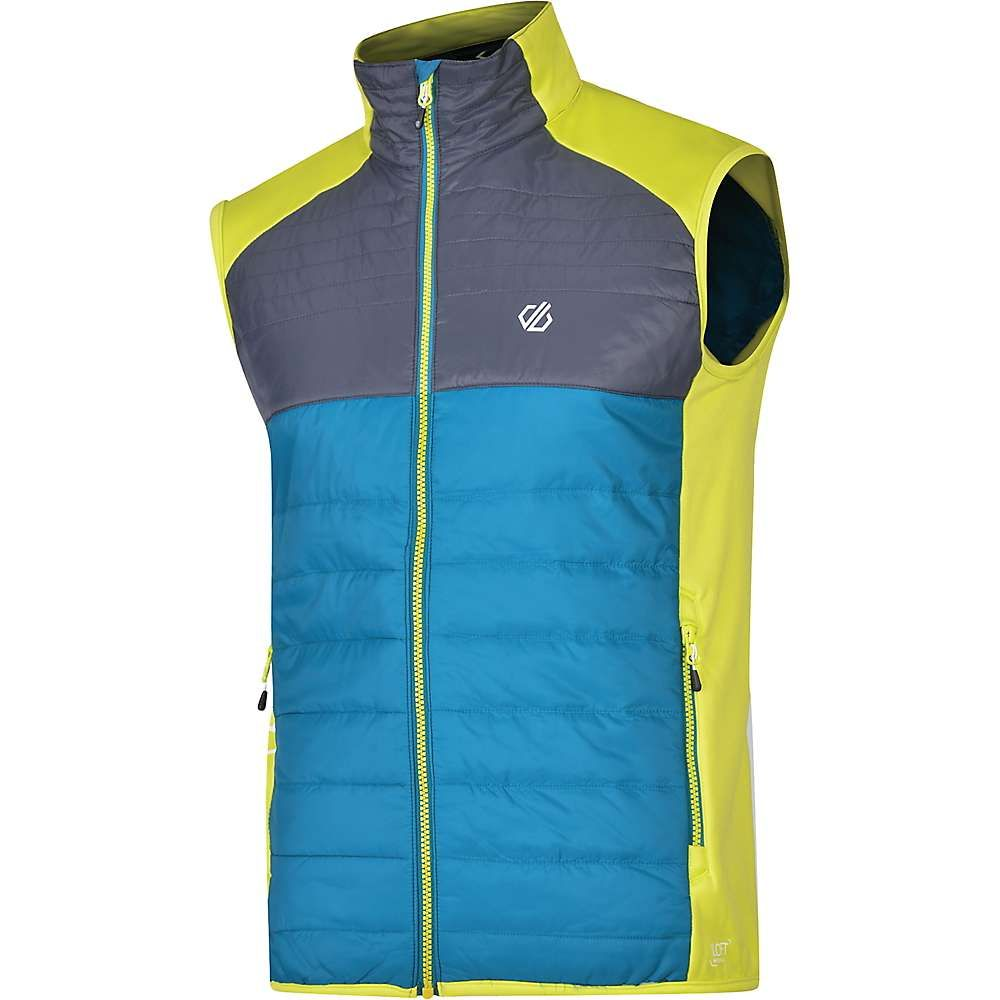 デア トゥビー Dare 2B メンズ ベスト・ジレ トップス【Coordinate Wool Vest】Ebony Grey/Citron Lime/Ocean Depths