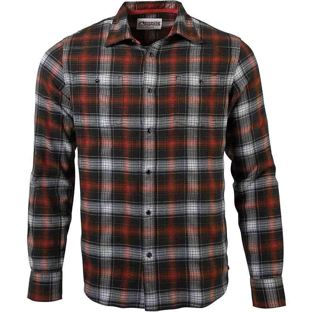 マウンテンカーキス Mountain Khakis メンズ シャツ フランネルシャツ トップス【Saloon Flannel Shirt】Rainforest