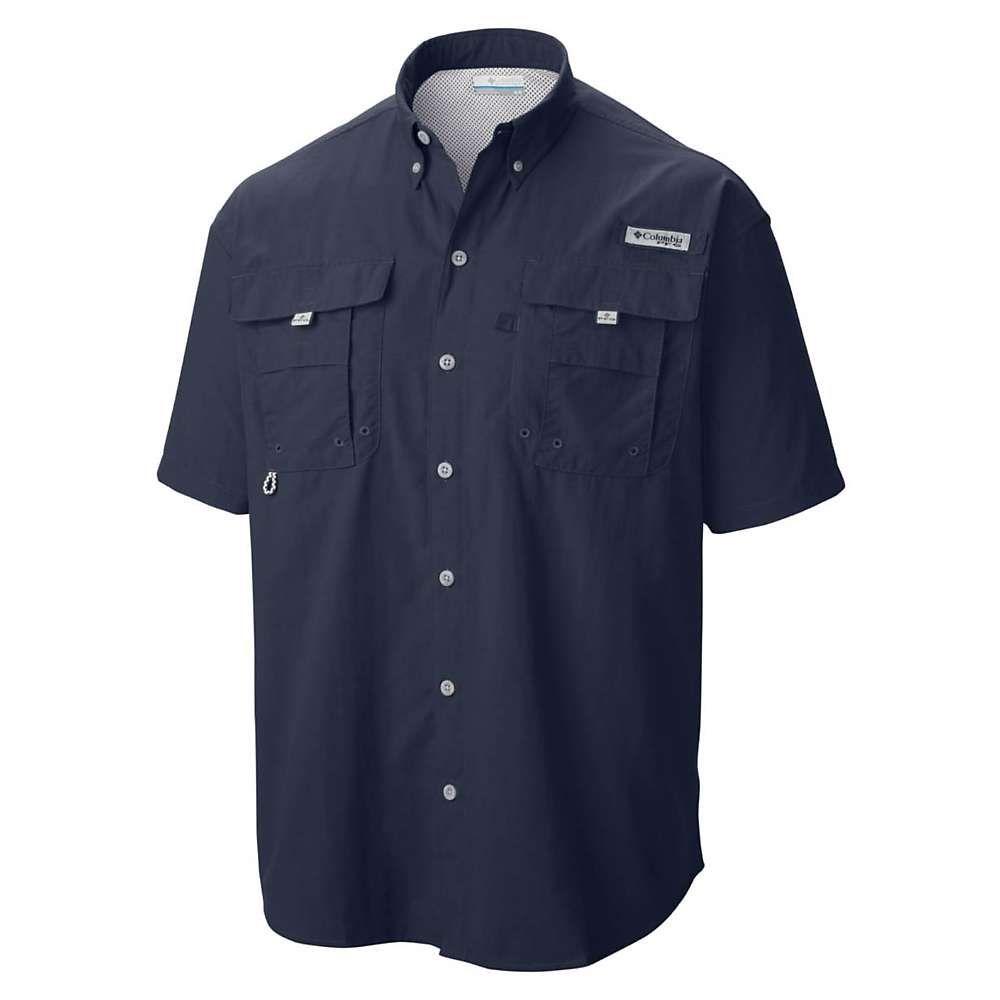 コロンビア Columbia メンズ 半袖シャツ トップス【Bahama II SS Shirt】Collegiate Navy