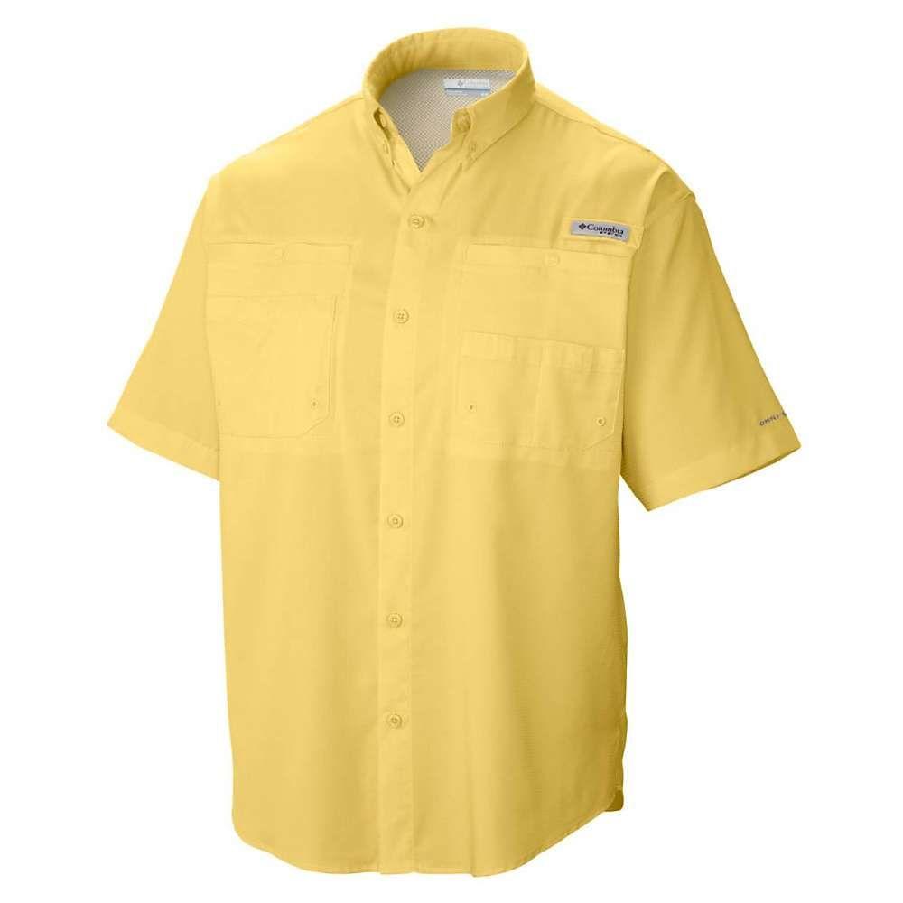 コロンビア Columbia メンズ 半袖シャツ トップス【Tamiami II SS Shirt】Sunlit