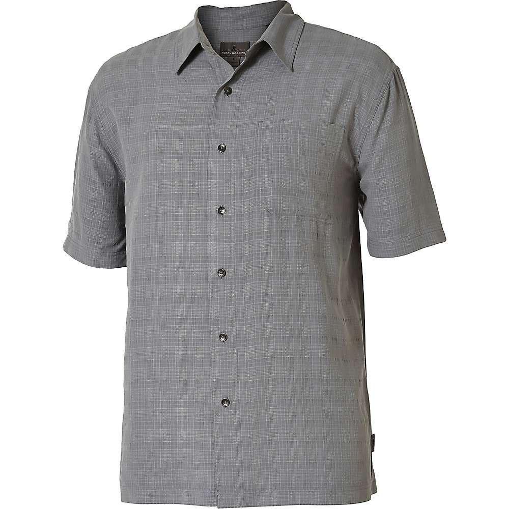 ロイヤルロビンズ Royal Robbins メンズ 半袖シャツ トップス【San Juan Day SS Shirt】Lt Pewter