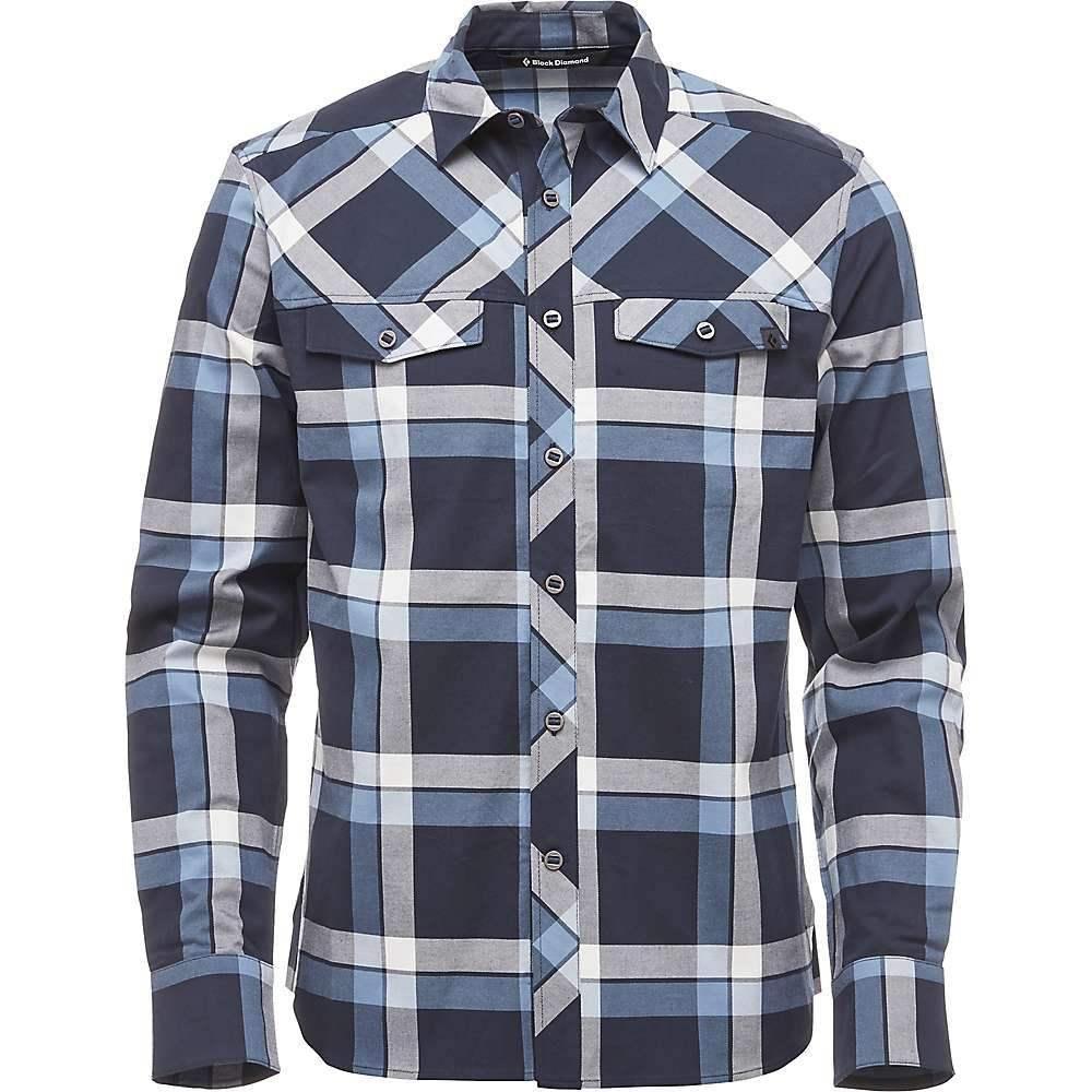 ブラックダイヤモンド Black Diamond メンズ シャツ トップス【LS Technician Shirt】Captain/Blue Steel Plaid