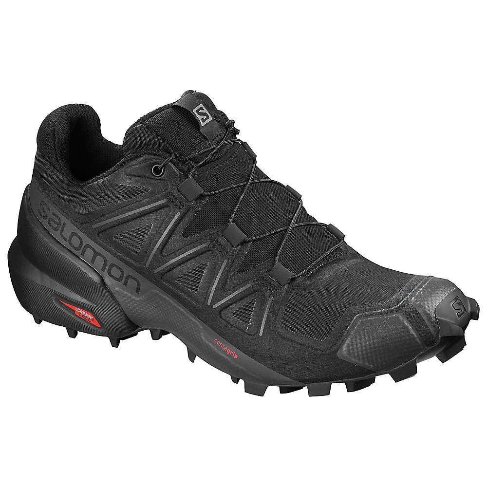 サロモン Salomon レディース ランニング・ウォーキング シューズ・靴【Speedcross 5 Shoe】Black/Black/Phantom