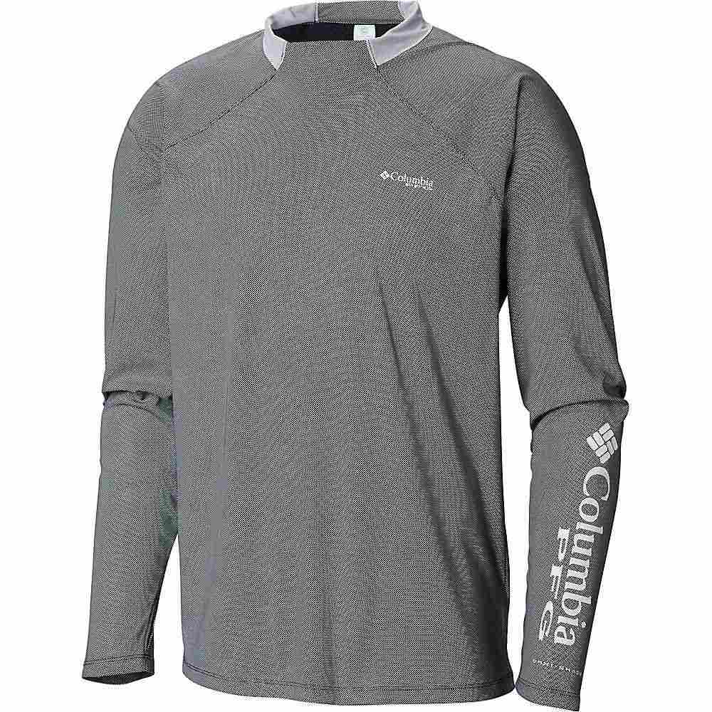 コロンビア Columbia メンズ 釣り・フィッシング トップス【Terminal Deflector Zero LS Shirt】Black/Cool Grey