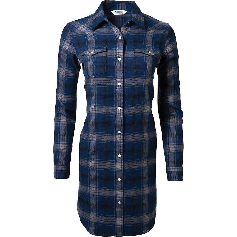 マウンテンカーキス Mountain Khakis レディース ワンピース シャツワンピース ワンピース・ドレス【Saloon Shirt Dress】Twilight