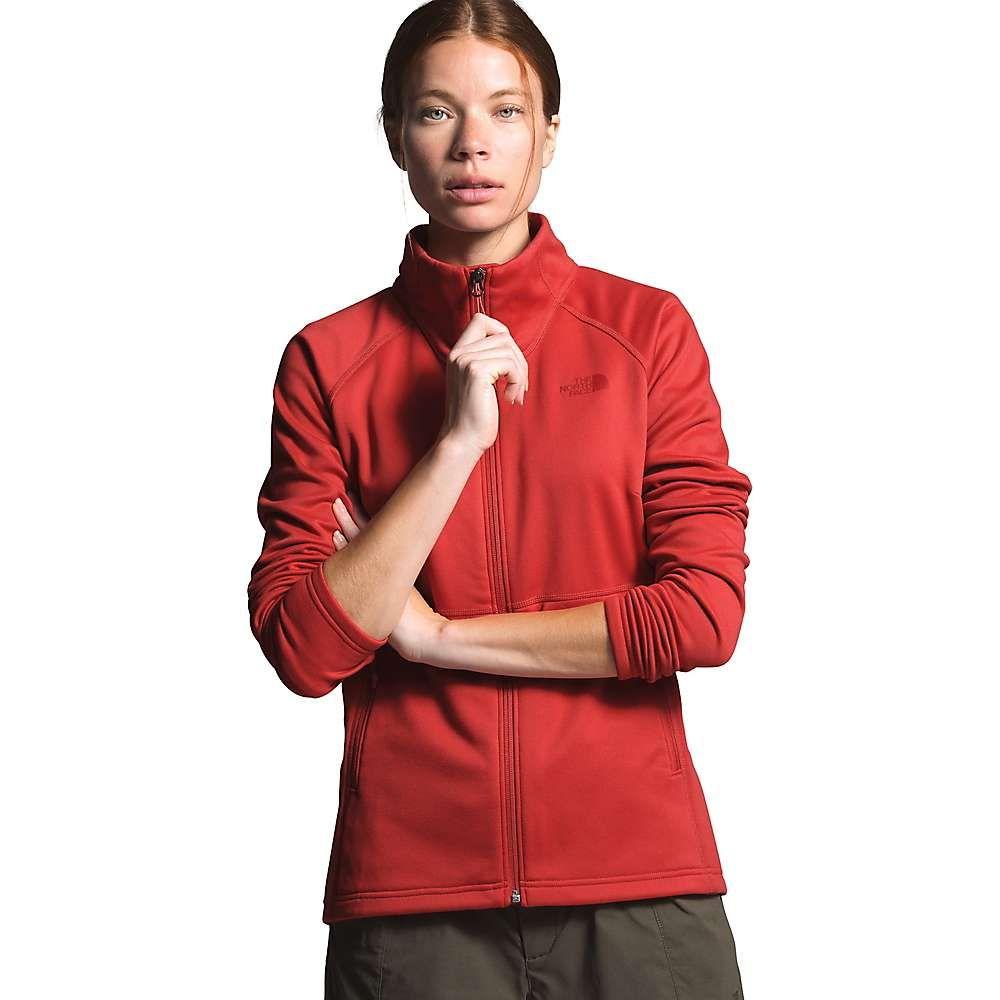 ザ ノースフェイス The North Face レディース ジャケット アウター【Canyonlands Full Zip Jacket】Sunbaked Red