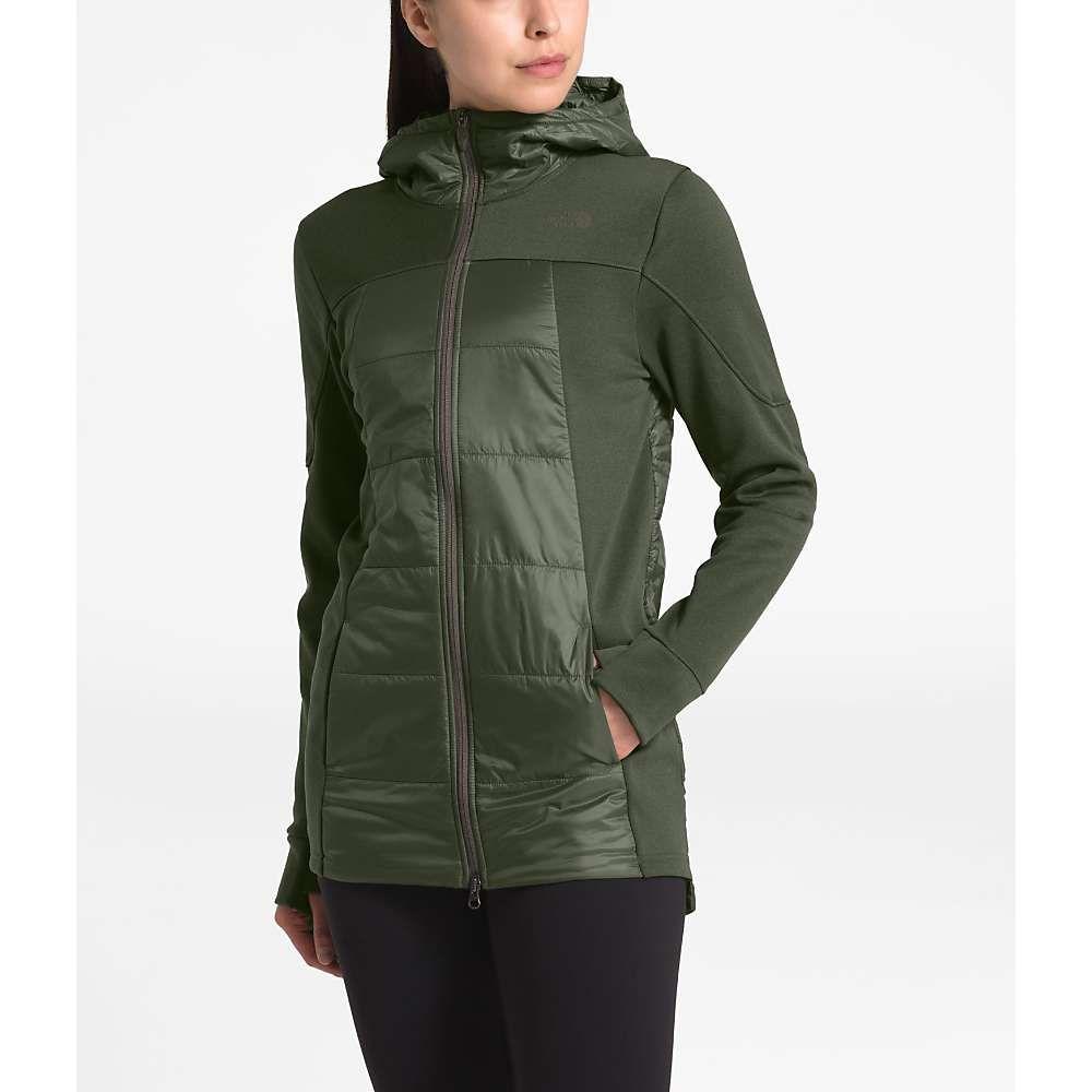 ザ ノースフェイス The North Face レディース ジャケット アウター【Motivation Hybrid Long Jacket】New Taupe Green/New Taupe Green Heather
