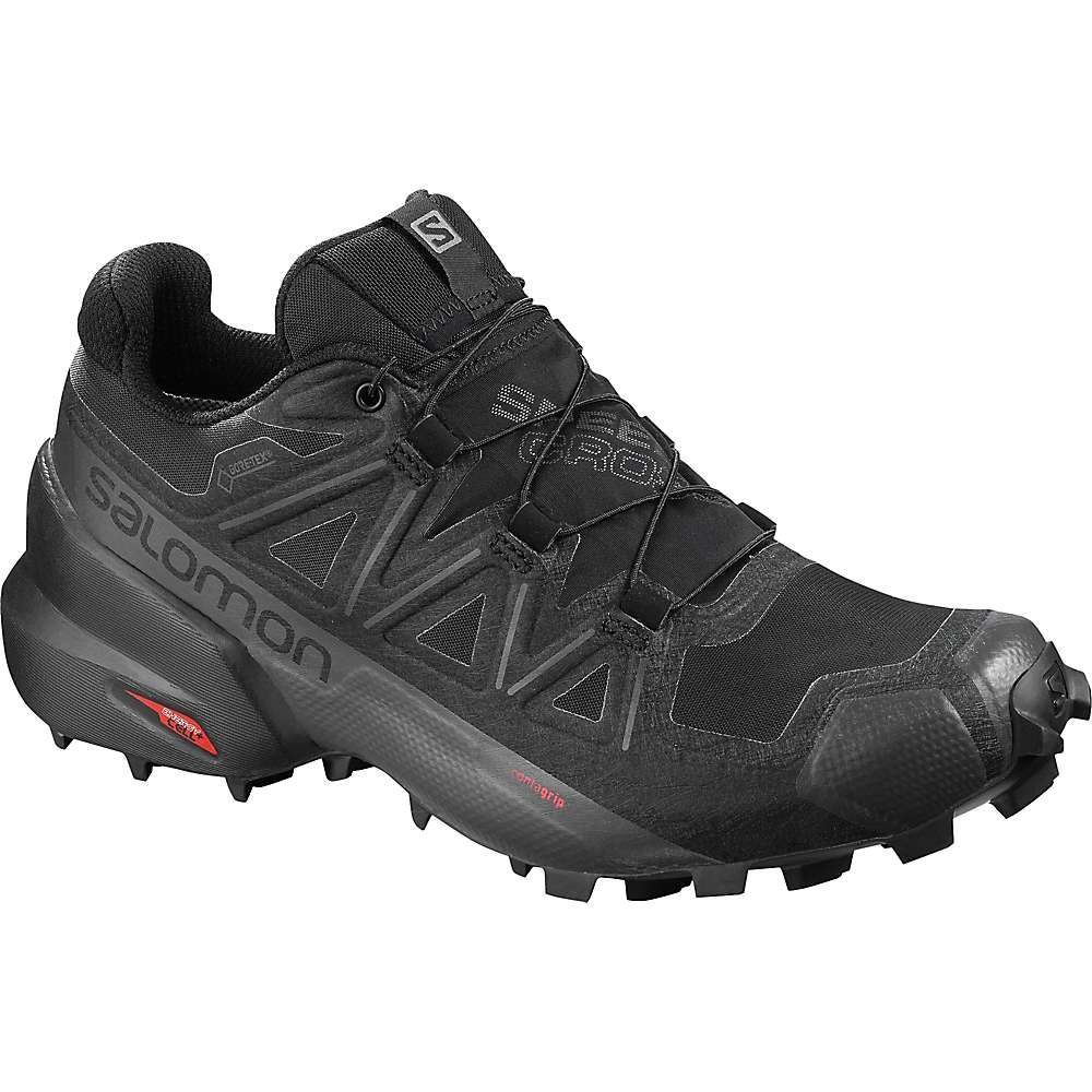 サロモン Salomon レディース ランニング・ウォーキング シューズ・靴【Speedcross 5 GTX Shoe】Black/Black/Phantom