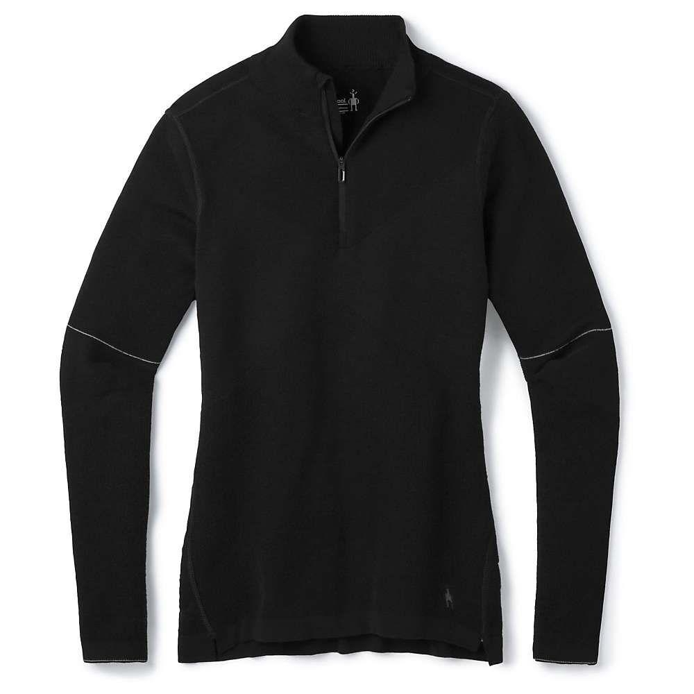 スマートウール Smartwool レディース ハイキング・登山 トップス【Intraknit Merino 250 Thermal 1/4 Zip】Black