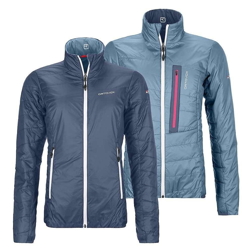 オルトボックス Ortovox レディース スキー・スノーボード ジャケット アウター【Swisswool Piz Bial Jacket】Night Blue