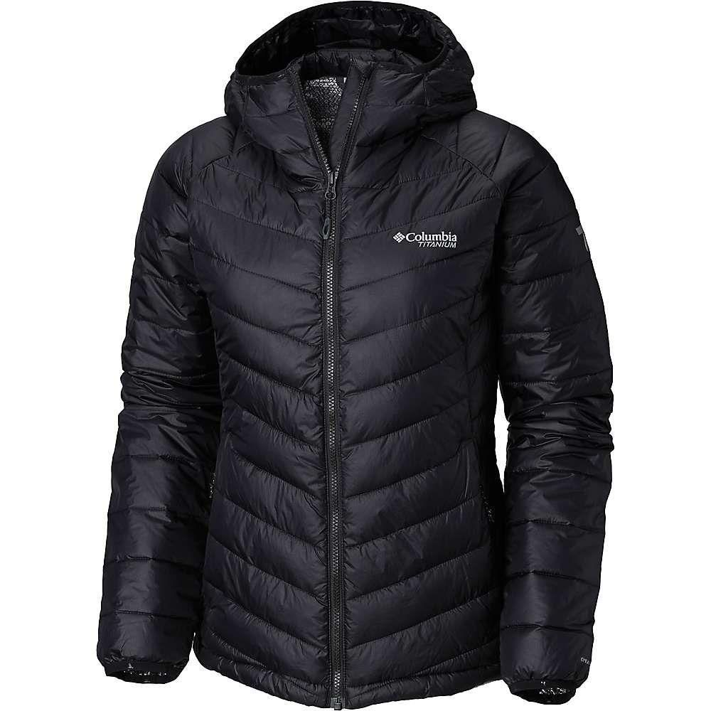 コロンビア Columbia レディース ジャケット フード アウター【Titanium Snow Country Hooded Jacket】Black
