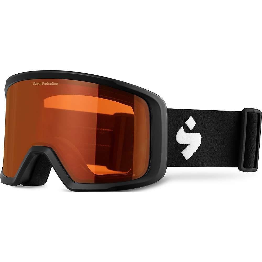 スイートプロテクション Sweet Protection ユニセックス スキー・スノーボード ゴーグル【Firewall Goggle】Matte Black/Orange