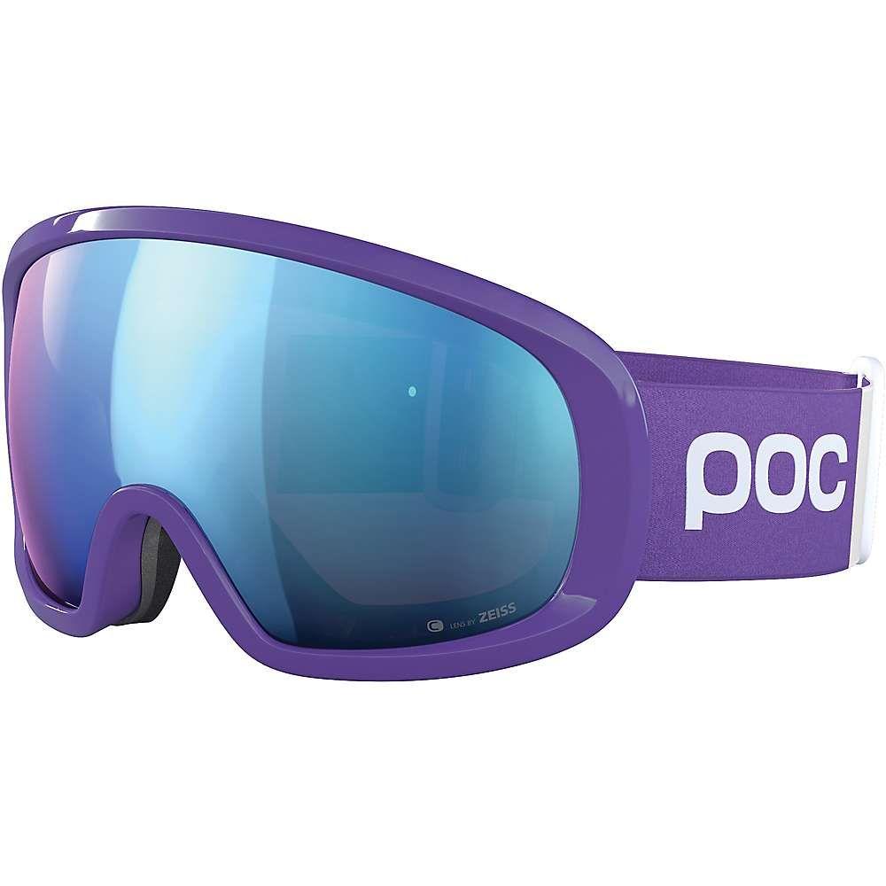 ピーオーシー POC Sports ユニセックス スキー・スノーボード ゴーグル【Fovea Mid Clarity Comp Goggle】Ametist Purple/Spektris Blue