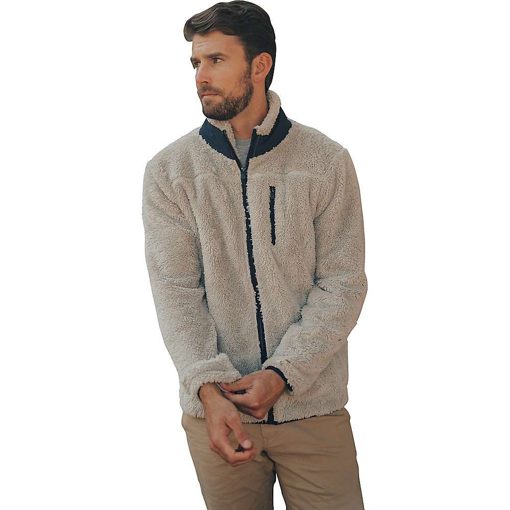 ノーマルブランド The Normal Brand メンズ ジャケット アウター【Henry Sherpa Jacket】Stone