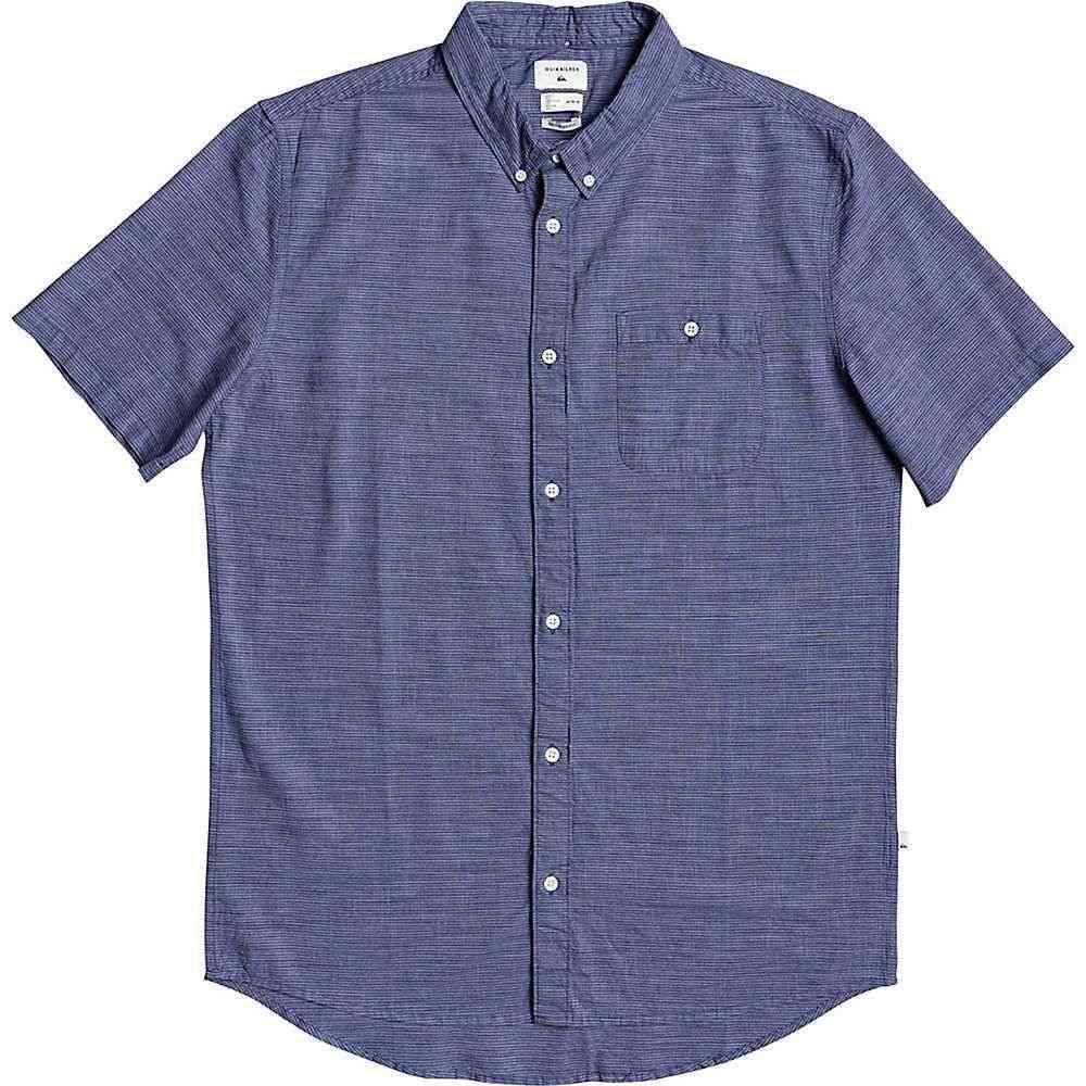 クイックシルバー Quiksilver メンズ 半袖シャツ トップス【Firefall SS Shirt】Stone Wash