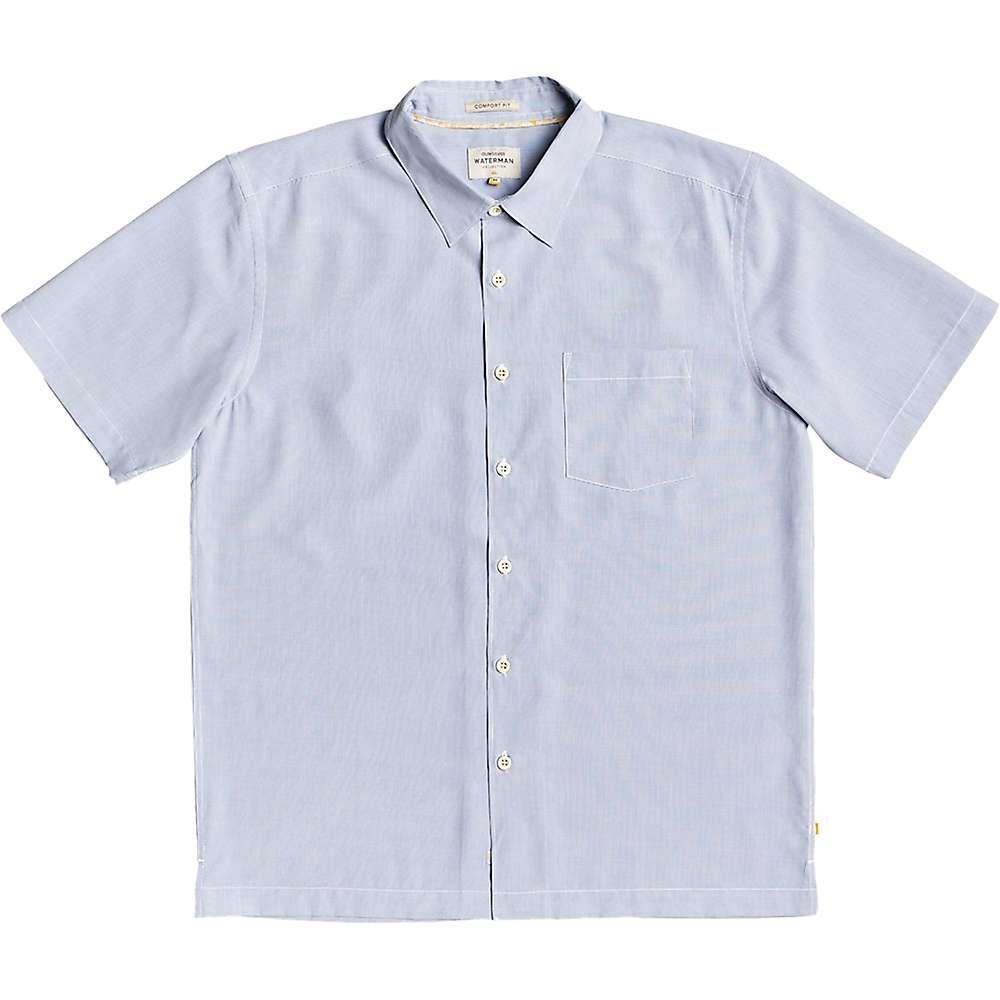 クイックシルバー Quiksilver メンズ 半袖シャツ トップス【Cane Island Shirt】White Cane Island
