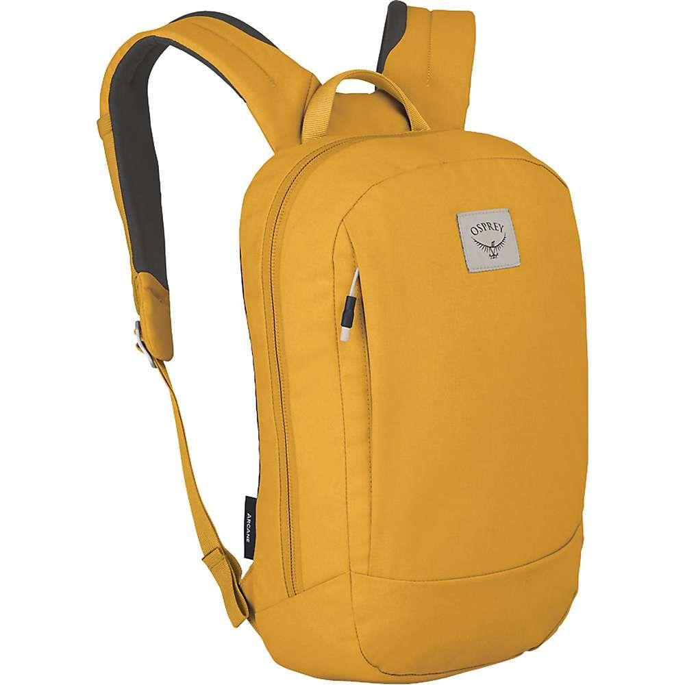 オスプレー Osprey メンズ バックパック・リュック デイパック バッグ【Arcane Small Daypack】Honeybee Yellow