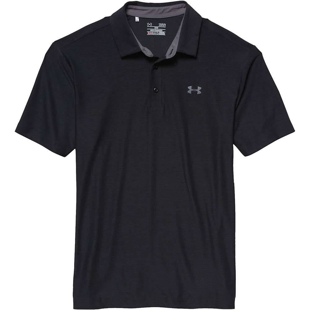 アンダーアーマー Under Armour メンズ ポロシャツ トップス【UA Playoff Polo】Black/Graphite/Graphite
