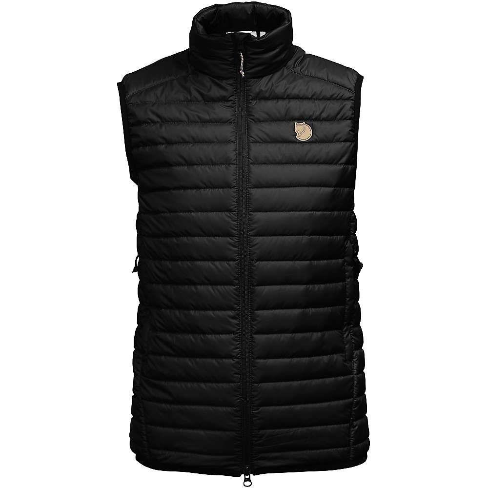 フェールラーベン Fjallraven レディース ベスト・ジレ トップス【Abisko Padded Vest】Black