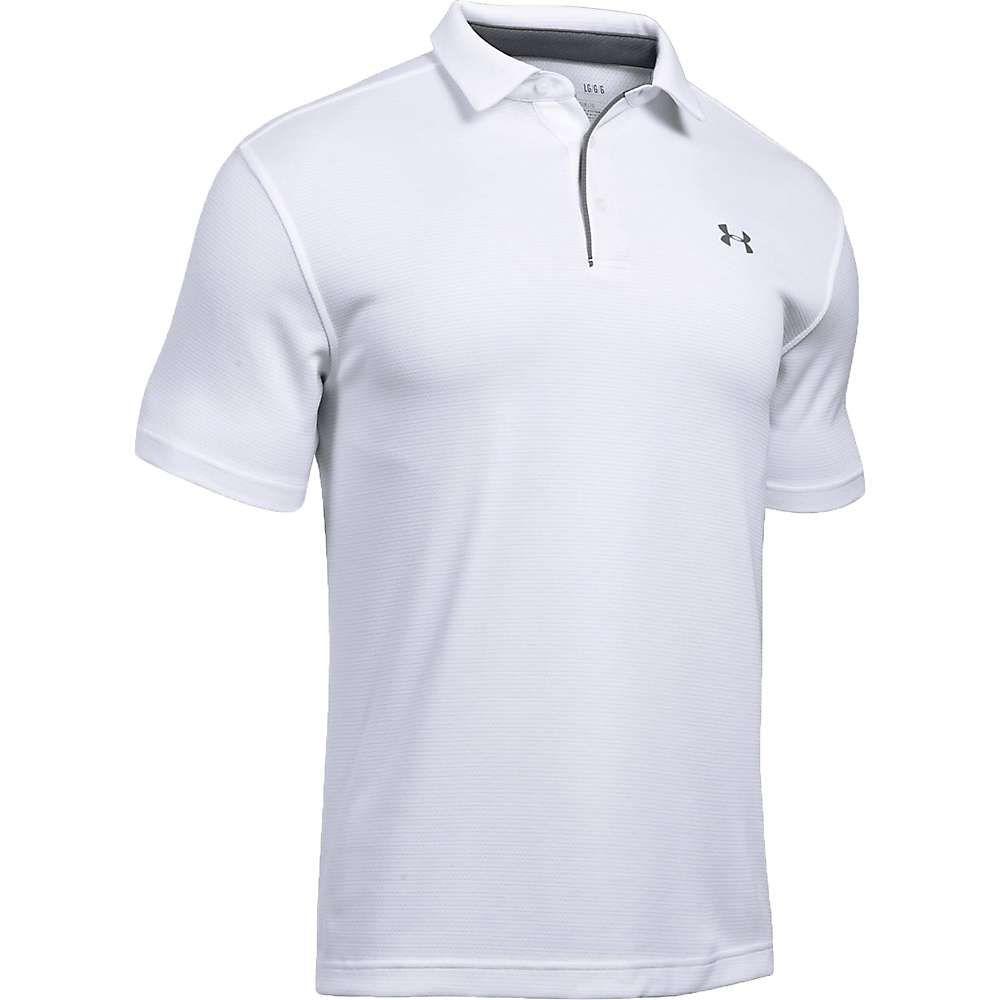 アンダーアーマー Under Armour メンズ ポロシャツ トップス【UA Tech Polo】White/Graphite/Graphite