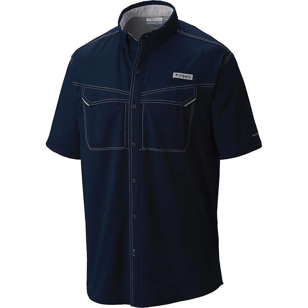 コロンビア Columbia メンズ 釣り・フィッシング トップス【Low Drag Offshore SS Shirt】Collegiate Navy