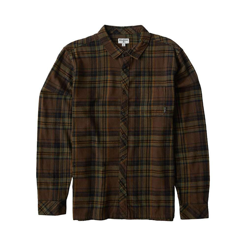 ビラボン Billabong メンズ シャツ トップス【Coastline Long Sleeve Shirt】Mud