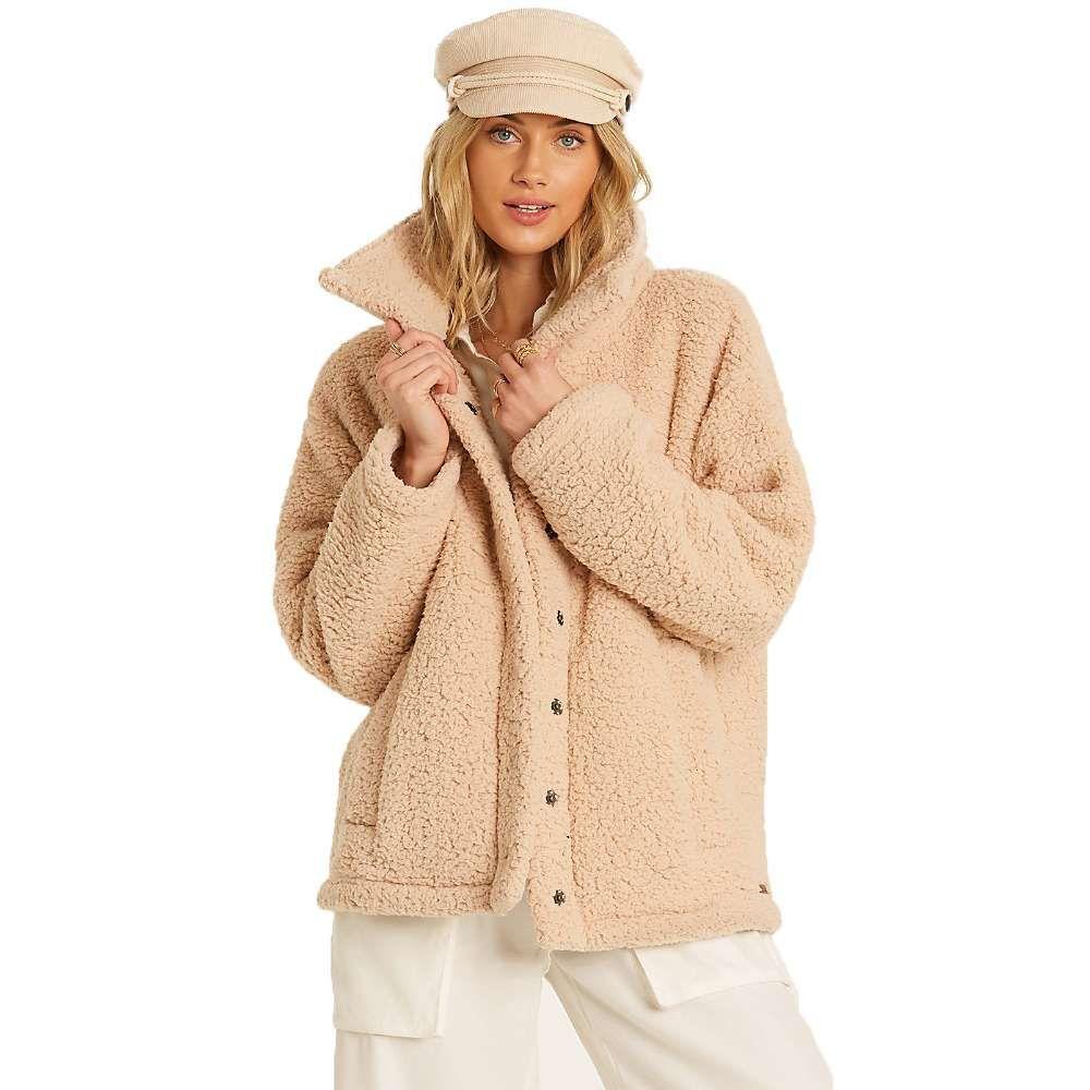 ビラボン Billabong レディース ジャケット アウター【Cozy Days Jacket】Antique White