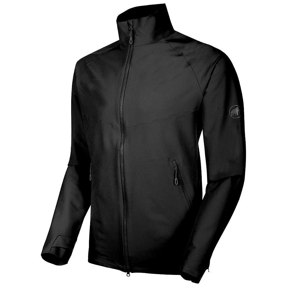 マムート Mammut メンズ ジャケット ソフトシェルジャケット アウター【Macun Softshell Jacket】Black