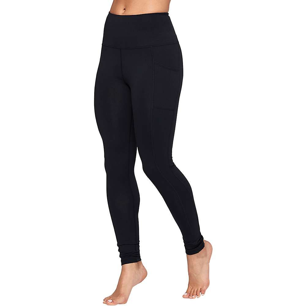 マンドゥカ Manduka レディース ヨガ・ピラティス スパッツ・レギンス ボトムス・パンツ【Essential Pocket Legging】BLACK