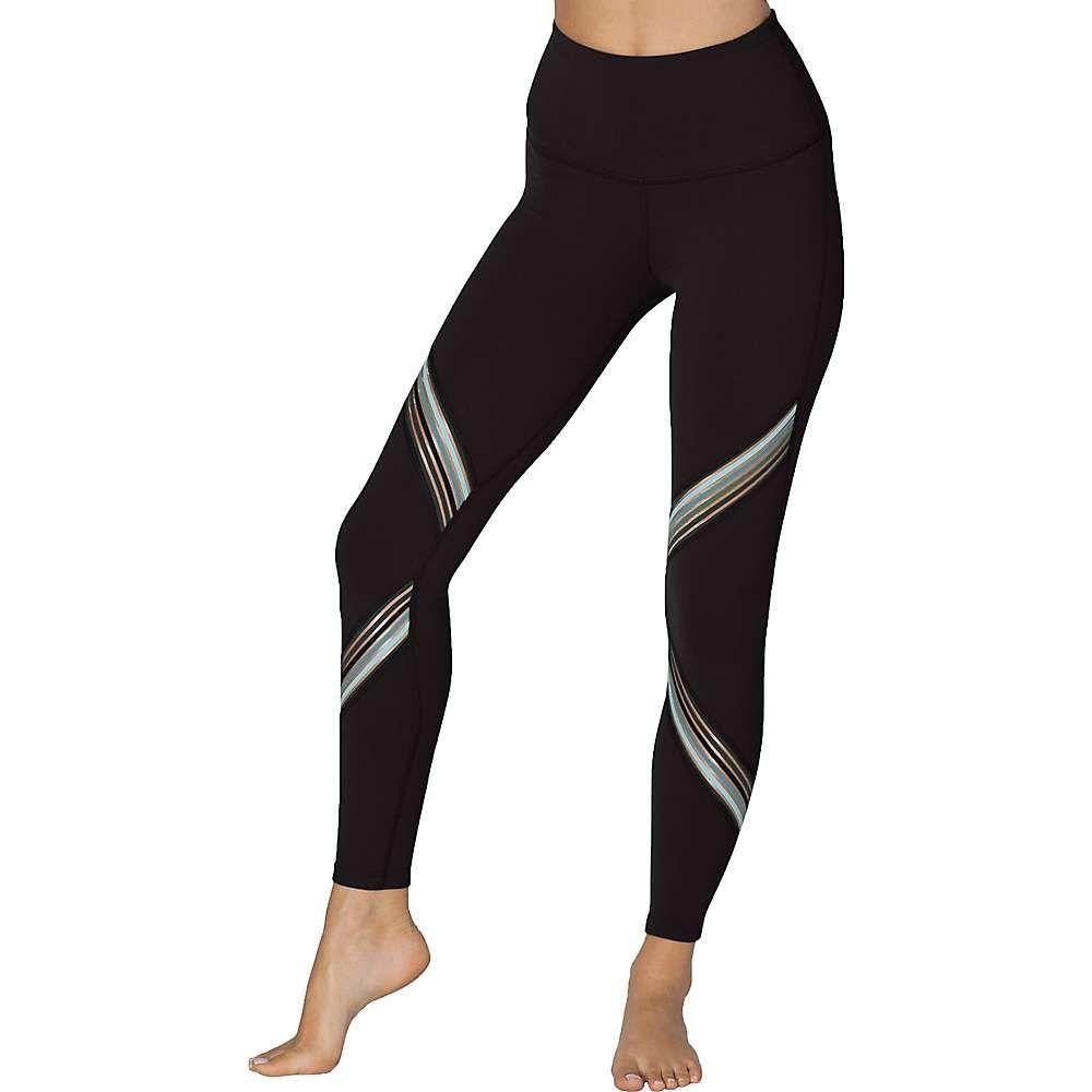 ビヨンドヨガ Beyond Yoga レディース ヨガ・ピラティス スパッツ・レギンス ボトムス・パンツ【Get Your Filament High Waisted Long Legging】Jet Black