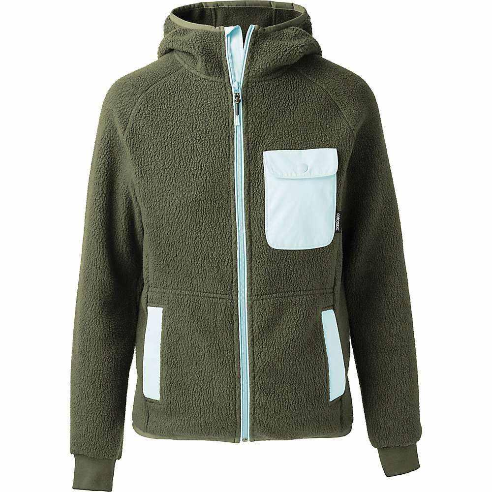 コトパクシ Cotopaxi メンズ フリース フード トップス【Cubre Hooded Full Zip Fleece Jacket】Cargo/Aqua