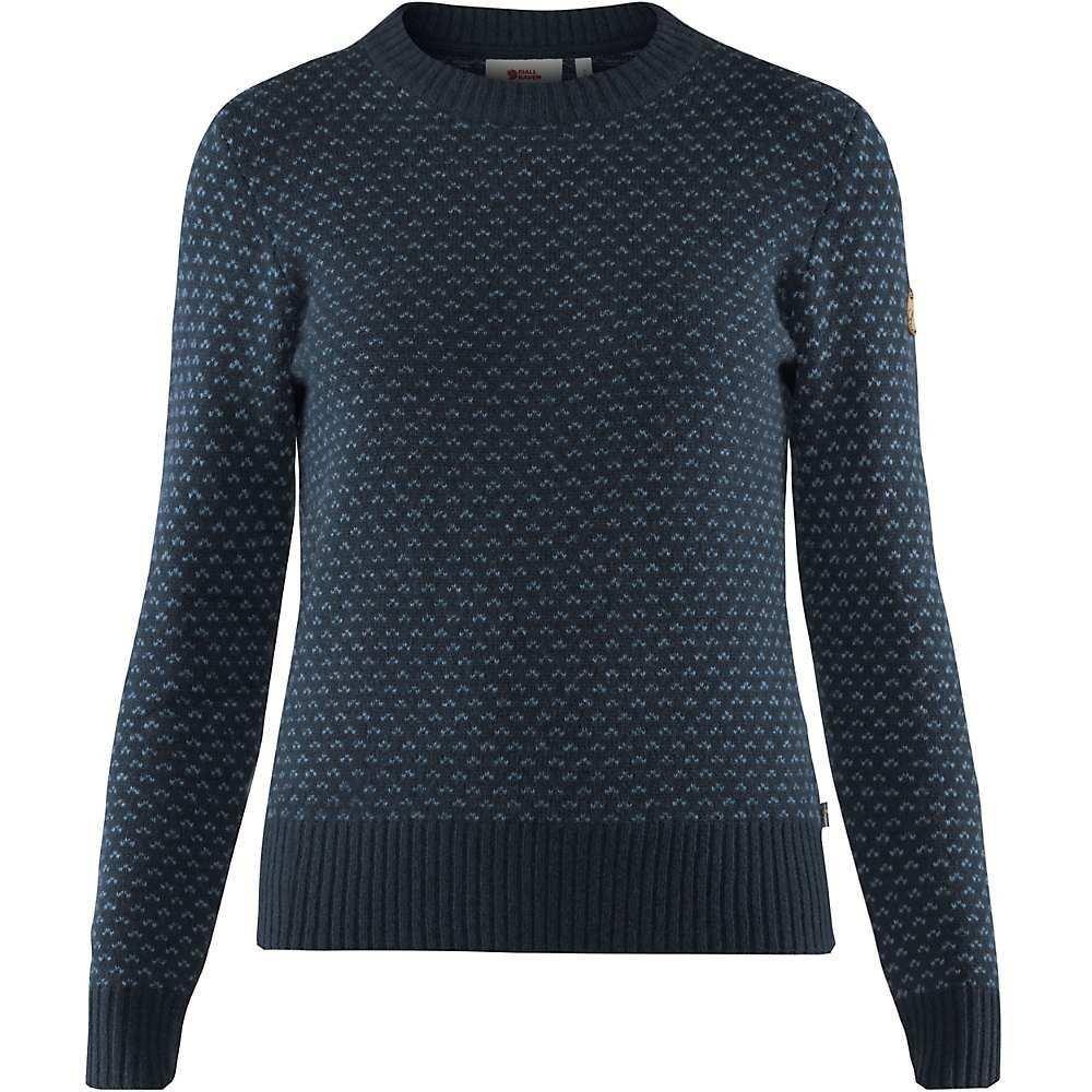 フェールラーベン Fjallraven レディース ニット・セーター トップス【Ovik Nordic Sweater】Dark Navy