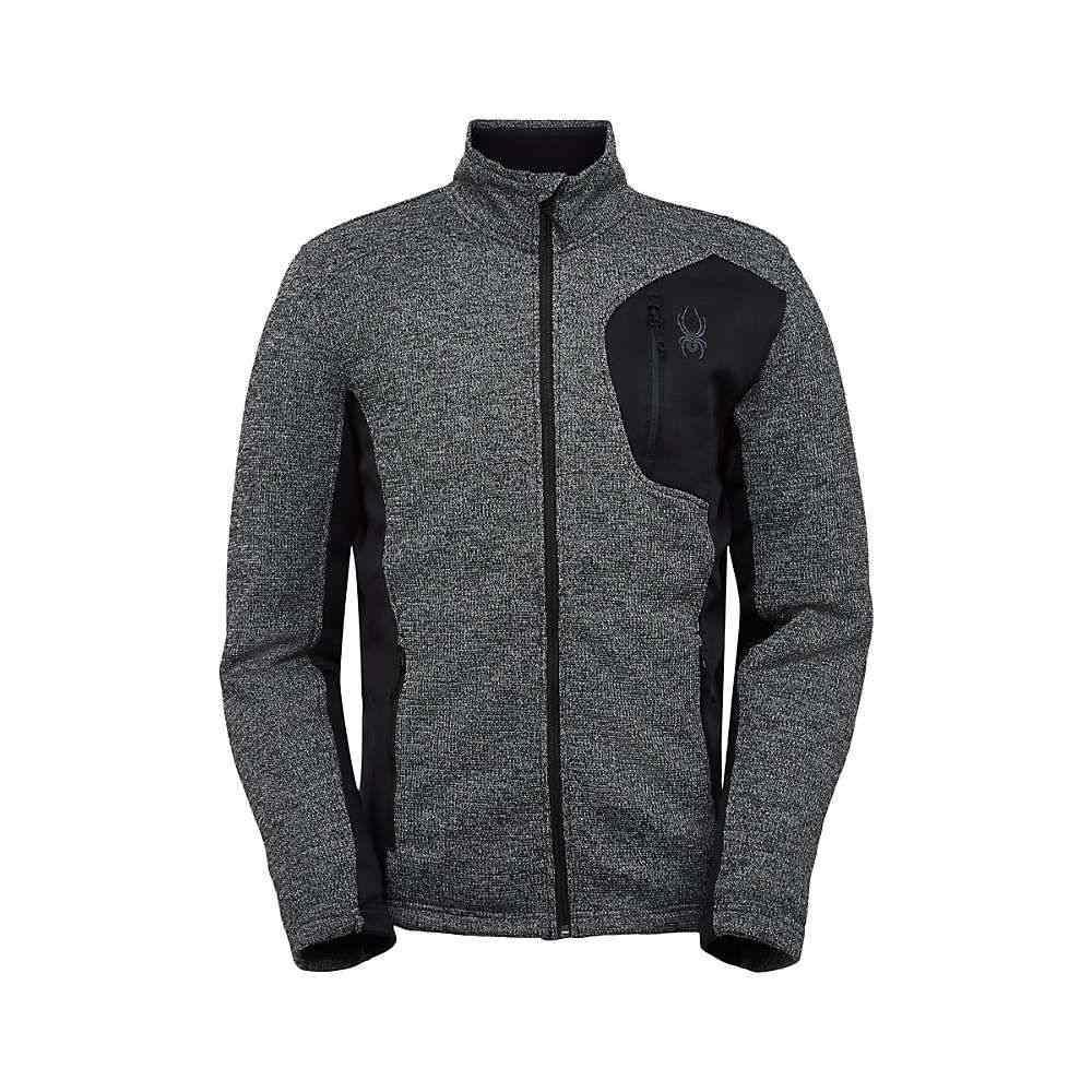 スパイダー Spyder メンズ スキー・スノーボード ジャケット アウター【Bandit Full Zip Jacket】Black Alloy