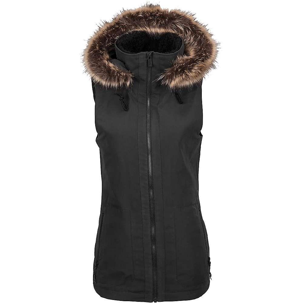 ボルコム Volcom レディース ベスト・ジレ トップス【Longhorn Vest】Black